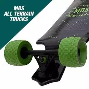 MBS All-Terrain Longboard Trucks