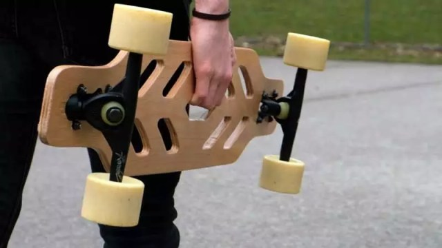 Make A Skeleton Longboard