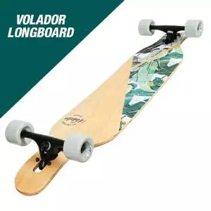 volador longboard deck