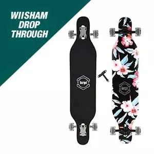 Wiisham Drop Through Longboard