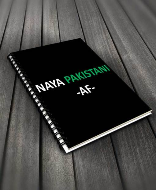 Naya Pakistan Af Notebook By Roshnai - Pickshop.Pk