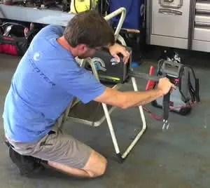 trailer winch maintenance