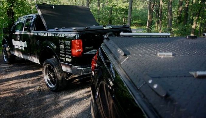 Diamondback Truck Tonneau Cover Atv Series Side Loading