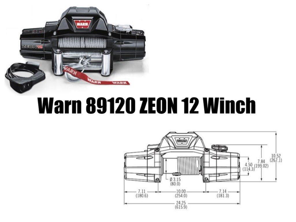 Warn Zeon 12 Winch Review On Pickwinch
