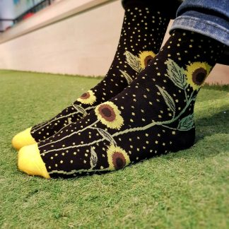 sunflower fields socks