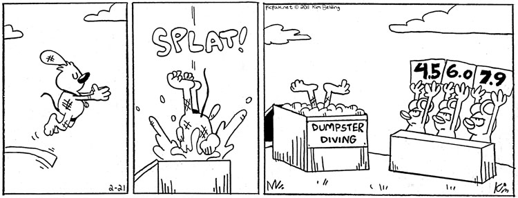 Dumpster Olympics