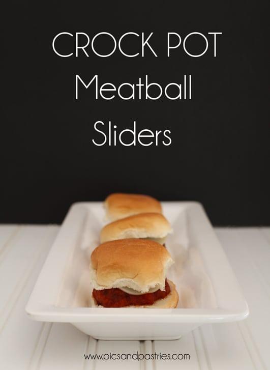 Crockpot Meatball Sliders