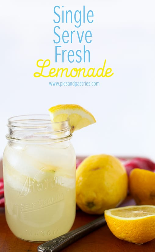 Single Serve Lemonade