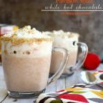 pumpkin spice white hot chocolate