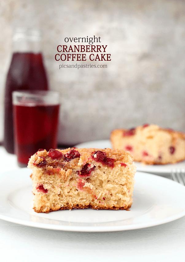 Overnight Cranberry Coffee Cake