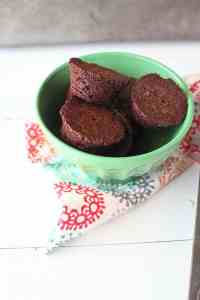 Mint Julep Brownie Bites