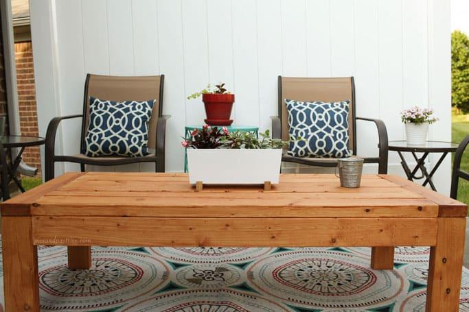 outdoor table diy
