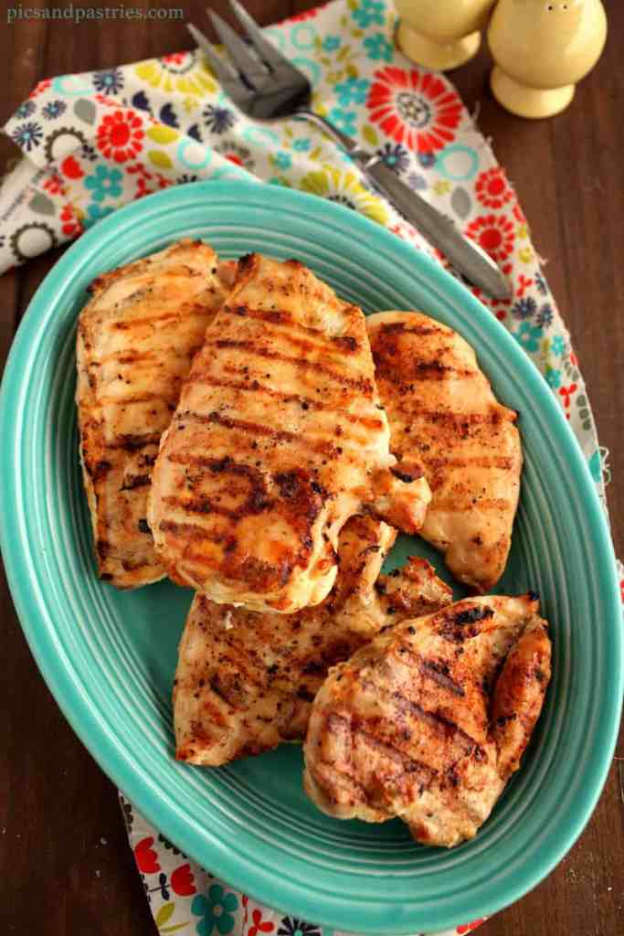 easy grilled chicken breast