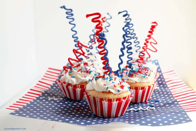 4th 0f July cupcakes