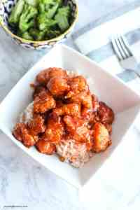 make sweet and sour chicken at home