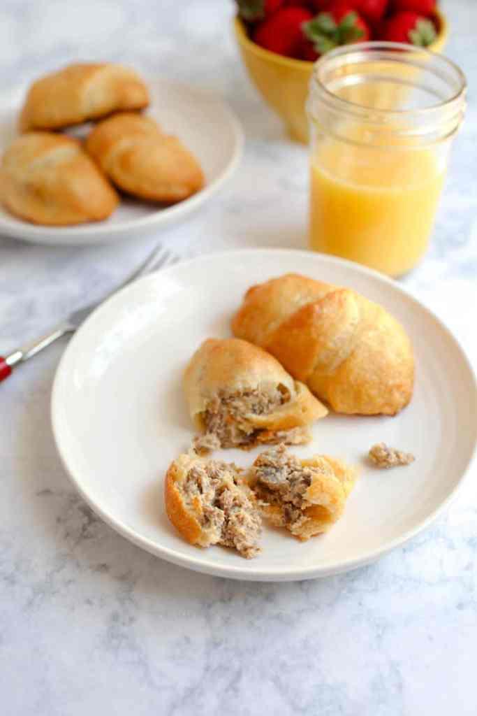 Easy Breakfast Sausage Rolls Recipe