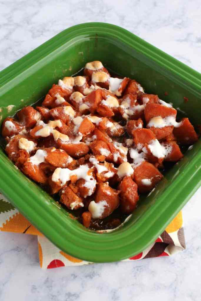 No fail sweet potatoes recipe using canned yams