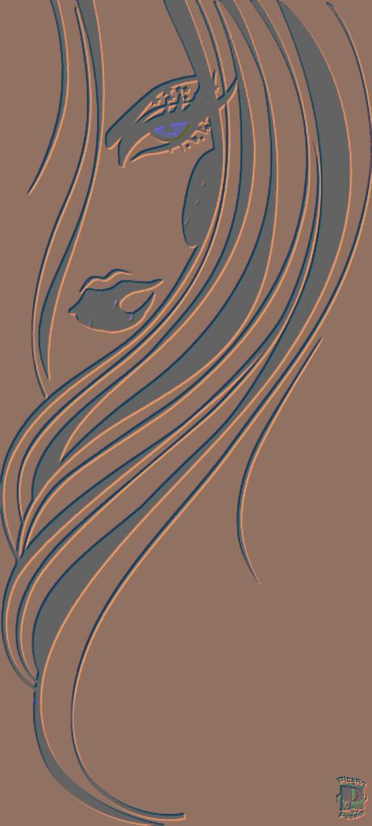 Phone Background - sexy woman - by XxBA666xX