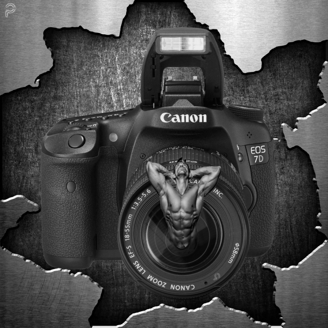 SurrealArt 'Canon Camera' #MadeWithPicsArt