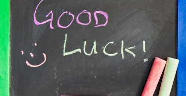 Good Luck Written