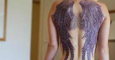 Sexy Wing Tattoo