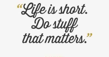 Short Life Quotes