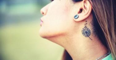 incredible Dandelion Tattoos