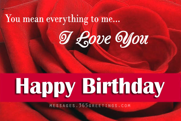 Birthday Love Quotes