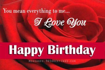 Birthday Love Quotes