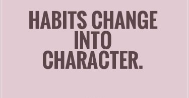 Character Sayings Habits Change Into Character   Ovid