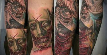Zombie Death Tattoo