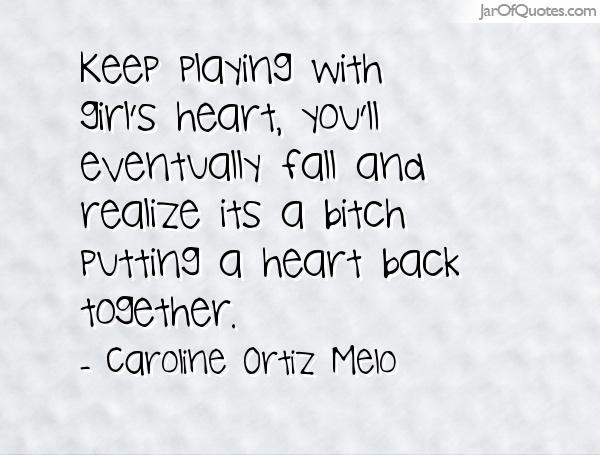 Gerardo Ortiz Quotes Keep Playing With Girls Heart Youll