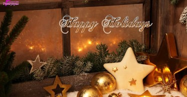 Happy Holiday Wishes & Greetings Image