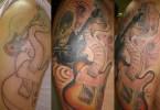 Rock Band Tattoo