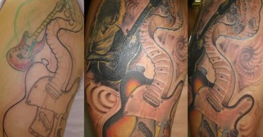 Rock Band Tattoo