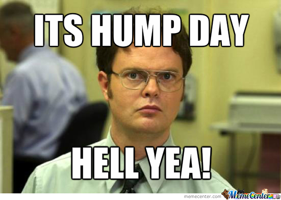 Its Hump Day Hell Yea Meme Graphic