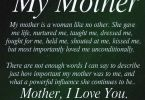 my mother my mother is a woman like no other..