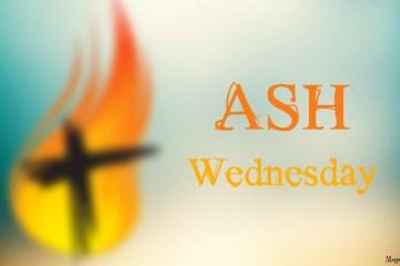 Blur Best Wishes Ash Wednesday Wallpaper