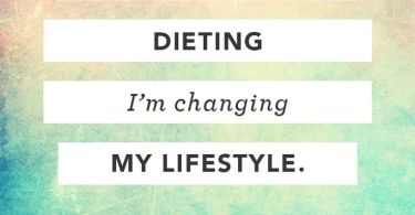 Diet sayings im not dieting im changing my lifestyle