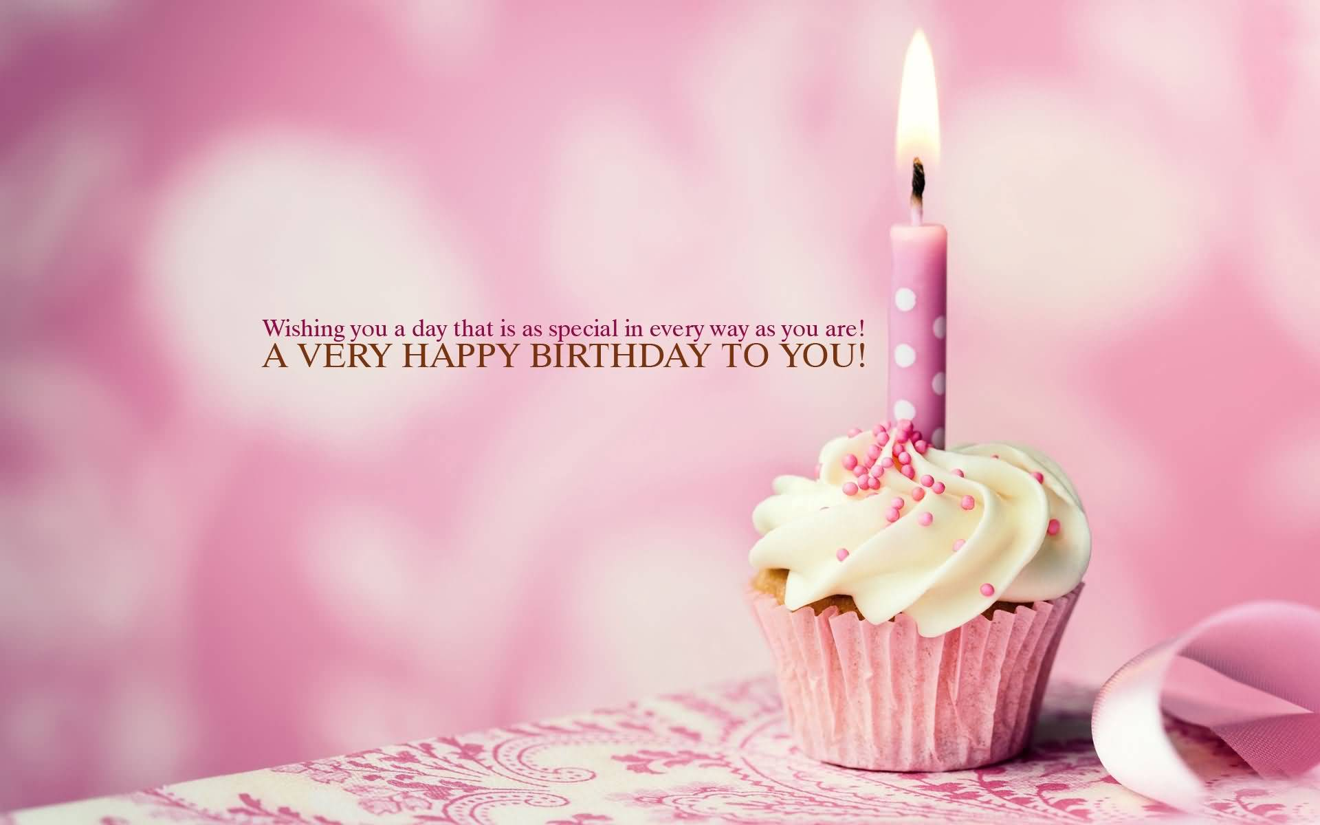 Happy Birthday Sayings wishing you a day that is as special
