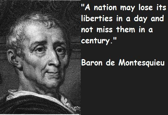 Montesquieu Quotes Sayings