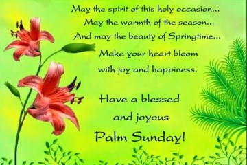 Palm Sunday Wishes Quotes 29