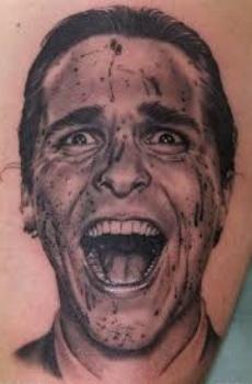 American Psycho Tattoo Design made by nikko hurtado