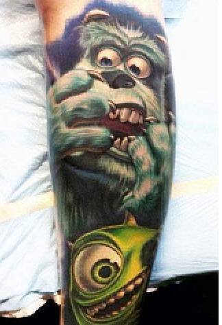 Disney Tattoo Design Made By Nikko Hurtado