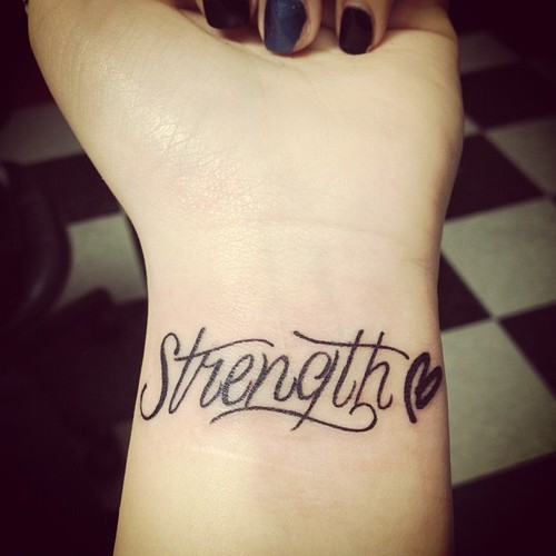 Extremely Strength Symbol Tattoos