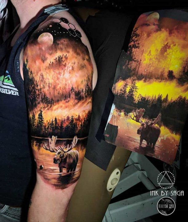 Great Fire Tattoos