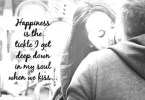 Love Quotes For Wife happiness is the tickle i get