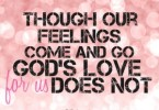 Terrific Love Quotes About God