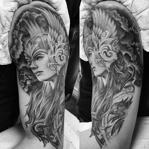 Valkyrie Tattoos Designs & Idea For Men's And Women's 0026