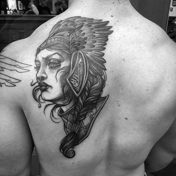 Valkyrie Tattoos Designs & Idea For Men's And Women's 0029